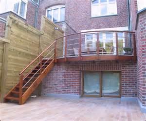 Escalier Acier Bois Exterieur by Mev Sprl Escaliers Ext 233 Rieurs