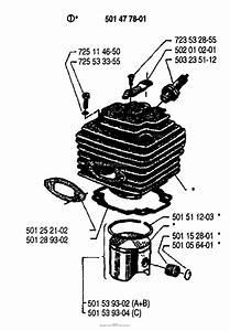 Husqvarna 165 Rx  1988 Cylinder