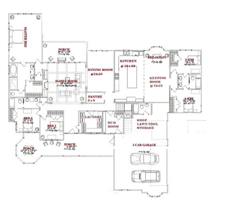 open living floor plans house plans great room floor with open living and kitchen