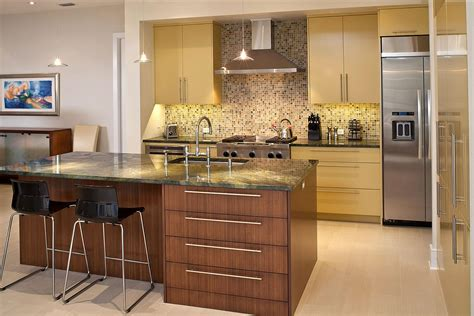 Contemporary Kitchen Home Design And Remodeling Ideas