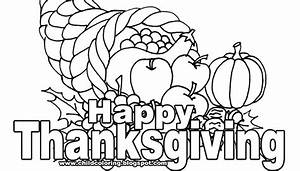 Thanksgivin Day Coloring ~ Child Coloring