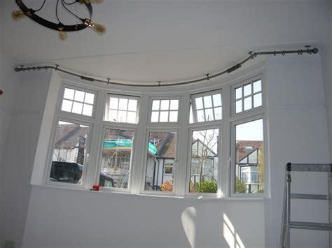 bradleys mm ceiling fix bay window curtain pole
