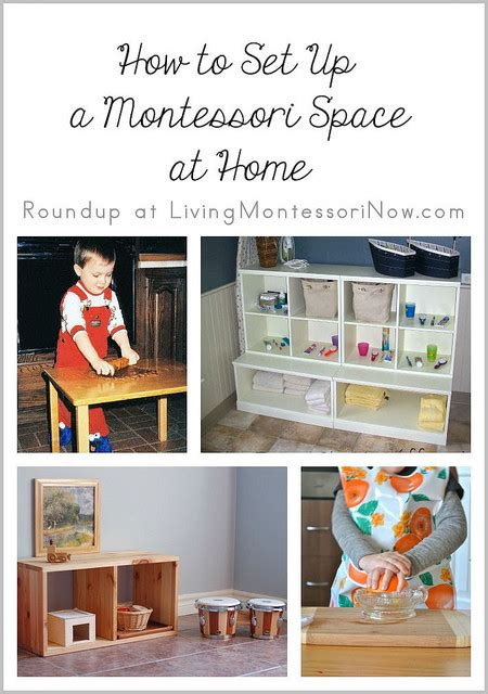 how to start using montessori at home 526 | How to Set Up a Montessori Space at Home e1409567347835