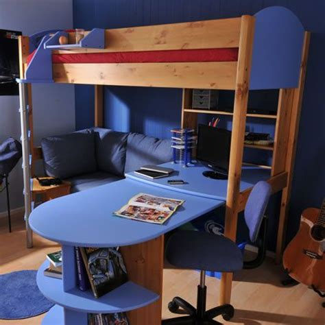 boys loft bed with desk futon bunk bed with desk design ideas kids room