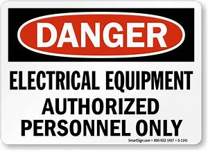 Buy Best-Selling Electrical Equipment Authorized Personnel ...
