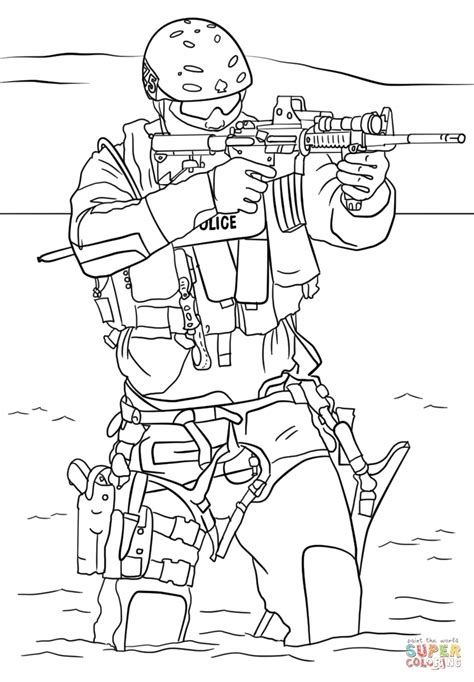 swat truck coloring page  getcoloringscom