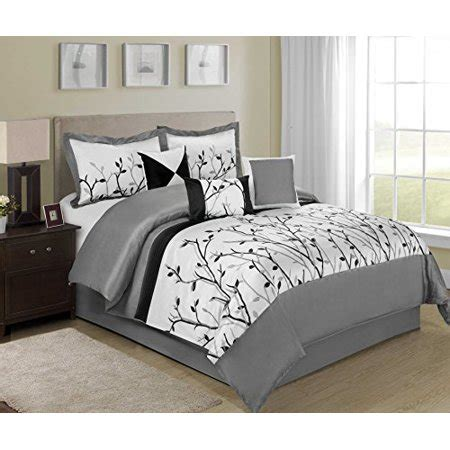 king size comforter sets clearance 7 willow braches printing and embroidered clearance