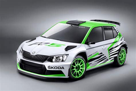 2015 Skoda Fabia R5 Rally Car Unveiled