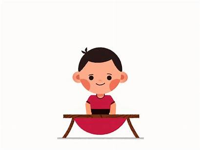 Jumping Trampoline Kid Animated Dribbble Animation Converted