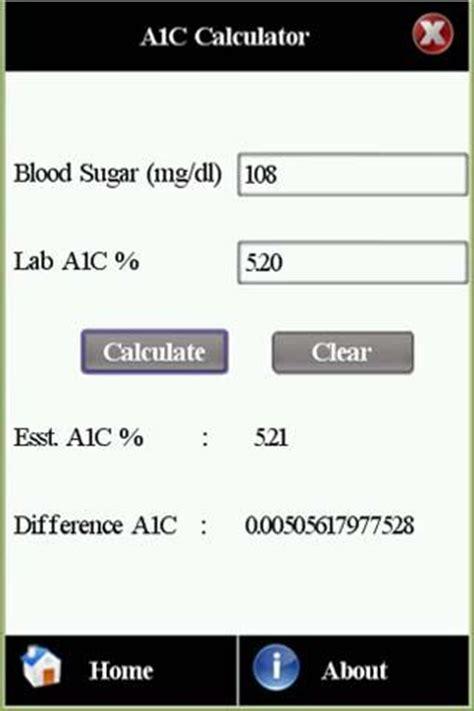 hbac normal range diabetes