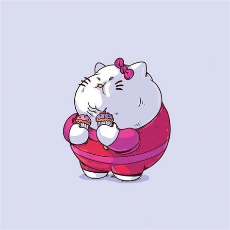 The Famous Chunkies Hello Kitty By Alex Solis  Iam8bit Uk