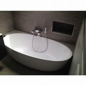 Bilder Freistehende Badewanne : mineralguss badewanne relino aus solid surface in glanz od ~ Sanjose-hotels-ca.com Haus und Dekorationen