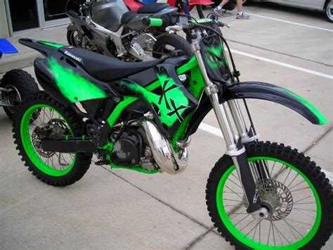 Wtt 2001 Kx 250 Increadible Hulk Dirtbike For What You