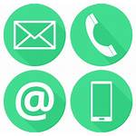 Phone Icons Address Contatti Appointment Manhattan Professional