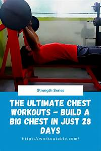 Ultimate Chest Workouts  U2013 The Best Chest Workout For Mass And Shape In 2020