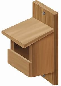 Plan Nichoir Oiseaux : nichoir pour des merles des tourterelles et des grives nichoir woodworking projects diy ~ Melissatoandfro.com Idées de Décoration