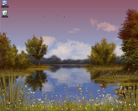 Animated Lake Wallpaper - lake animated wallpaper