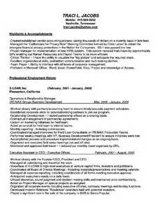 high level executive assistant resume physical education section materials