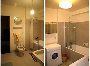 Salle De Bain Rénovation : r novation d un appartement des ann es 70 ~ Nature-et-papiers.com Idées de Décoration