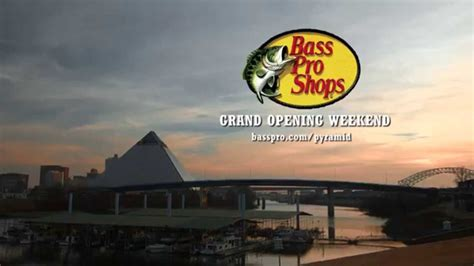 Grand Opening Event   Bass Pro Shops at the Pyramid - YouTube
