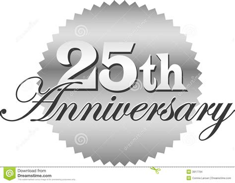 25th anniversary 25th anniversary logo vector www pixshark com images galleries with a bite