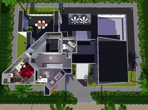 The Confidential Secrets Of Sims 4 Modern House Blueprints