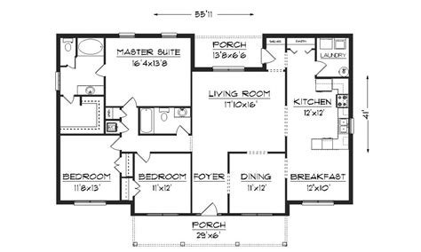 free floor plans modern house plans bungalow modern house