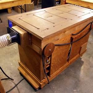 Multi-Function Bench - by Jim Bertelson @ LumberJocks com