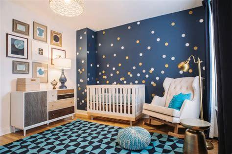 mur chambre bébé décoration chambre bébé en 30 idées créatives pour les murs