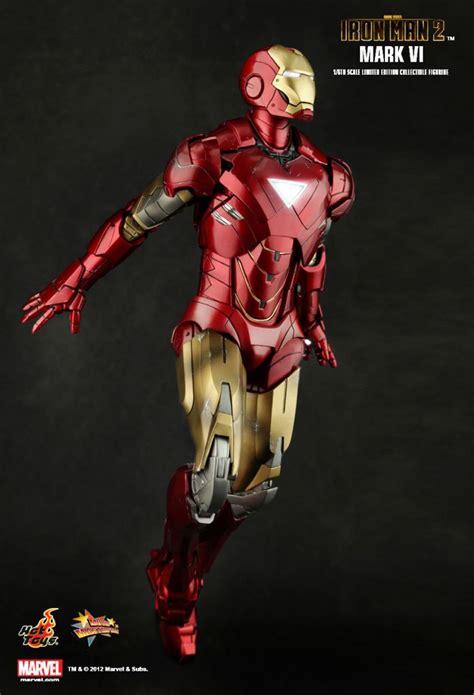 """Iron Man 2 - Iron Man Mark VI - 12"""" figure Hot Toys MMS 132"""