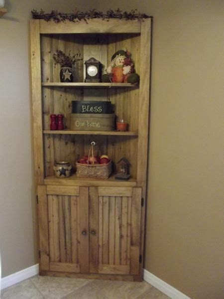 corner  rustic country wood pine corner