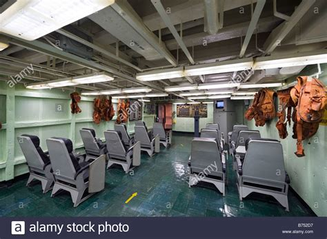 flight briefing room on uss yorktown aircraft carrier patriots point stock photo royalty free