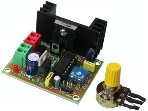 High Current Load Pwm Motor Speed Controller Using