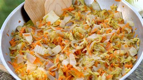 cuisiner le chou chinois marmiton embeurré de chou
