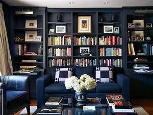 Blue Color Decoration Ideas for Living Room - Small Design