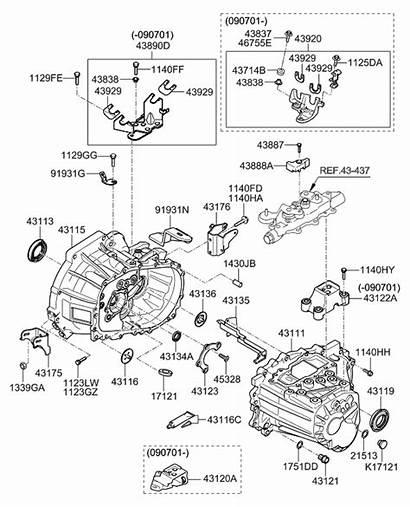 Hyundai Diagram Oil Elantra 2008 Seal