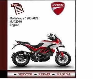Ducati Multistrada 1200 Abs M Y 2010 Service Manual