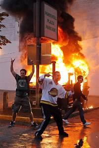 Photos: Riots, fire, destruction after Vancouver's loss ...