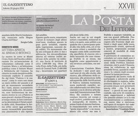 lettere ai giornali lettera al sindaco primi riscontri