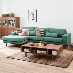 inspiration je veux un canape vert madame decore With tapis jaune avec conforama canapé meridienne