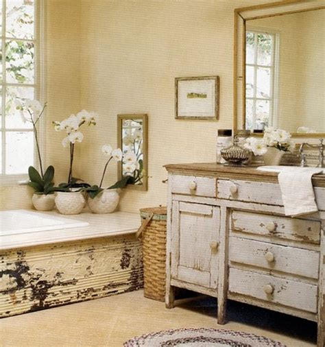 shabby chic vanity 29 vintage and shabby chic vanities for your bathroom digsdigs
