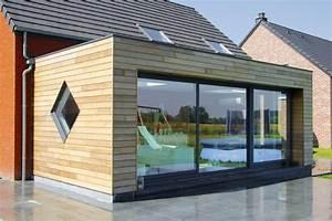 Cout Extension Bois : extension maison bois kit belgique ~ Nature-et-papiers.com Idées de Décoration