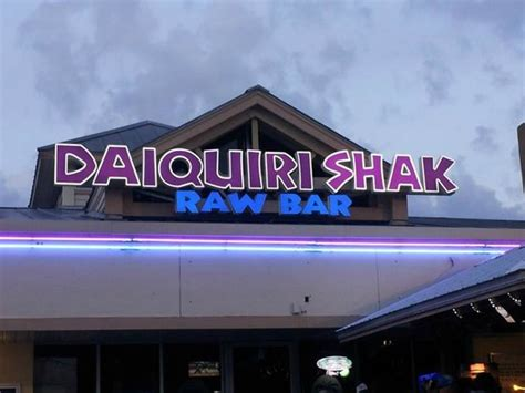daiquiri shak raw bar grille madeira beach restaurant