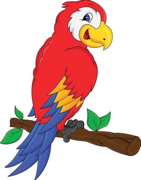 jungle parrot clipart clipground
