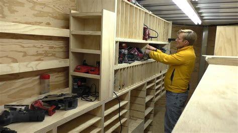 building a mobile building a mobile woodshop part 24 cubbies that hold a