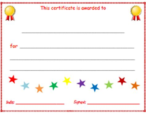 Free Printable Childrens Certificates Templates by Esl Certificates Lesson Plan Templates Attendance Sheets