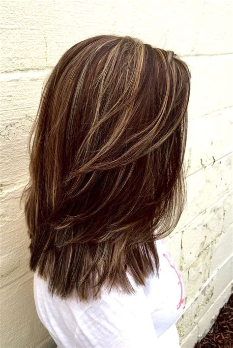lowlights hair color 25 trending brown hair with lowlights ideas on