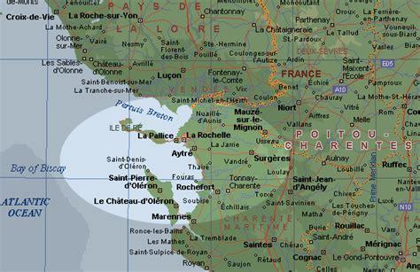 la rochelle carte et image satellite