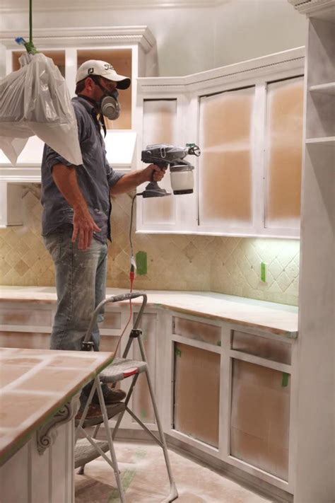 companies that spray paint kitchen cabinets spray paint for cabinets neiltortorella com
