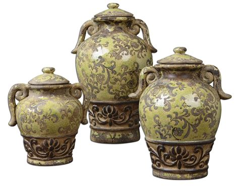 Decorative Kitchen Canisters by Uttermost 19716 Gian Kitchen Canister Um 19716